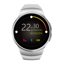 Wholesale Used Lcd Monitors - New fashion smart watches bluetooth 1.3' TFT IPS LCD sleep rate monitor TF SIM Card bluetooth smartwatches compatible with IOS and Android