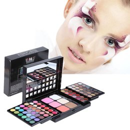 Wholesale Pro 78 Full Color Eyeshadow - Pro Full 78 Color paleta de maquiagem Makeup Eyeshadow Palette baked Fashion Eye Shadow Make up Shadows Cosmetics Tool