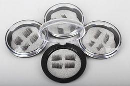 Wholesale Wing Lashes - Brand New Magnetic Eye Lashes 3D Mink Reusable False Magnet Eyelashes Extension 3d eyelash extensions magnetic eyelashes makeup DHL