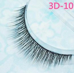 Wholesale Wholesale Korean Eyelash - 2016 False eyelashes authentic Korean high-grade multi-layer cross section the 3D simulation eyelashes transparent stems Epacket