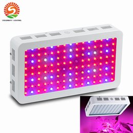 Wholesale Led Flowers Wholesale - US Stock! Full spectrum LED Grow Light 600 1000 1200W Double Chips LED Grow Lights Indoor Plants lamp for flowering and growing