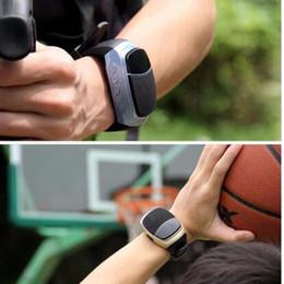 Wholesale Clock Timer Waterproof - B90 Smart Watches Stopwatch Alarm Clock Sports Music Watch Hands-free FM Radio Self-timer Anti-Lost Alarm Bluetooth Speaker