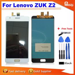 Al por mayor-negro / blanco para Lenovo ZUK Z2 pantalla táctil + reemplazo de pantalla lcd de montaje de pantalla para lenovo zuk z2 Smartphone + herramientas gratuitas desde fabricantes