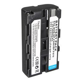 Bateria sony np on-line-Freeshipping NP-F550 2400 mah NP F550 NP-F570 NP F570 Recarregável Li-ion Bateria Da Câmera Para Sony NP-F330 F750 CCD-SC CCD-TR