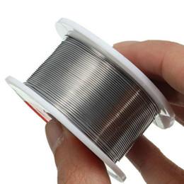 Wholesale Rosin Core Wire - Hot Sale 0.6mm New Tin Lead Tin Wire Melt Rosin Core Solder Soldering Wire Roll