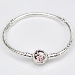 2019 flor gravura Dorapang padrão prata pura S925 pulseira pulseira primal perfeito gravado com flores poéticas flor gravura barato