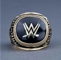 Wholesale Crystal Hall - 2015 Entertainment Wrestling Hall alloy Championship Rings