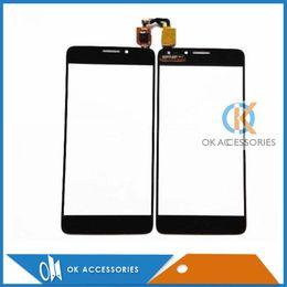 Wholesale Alcatel Digitizer - Touch Screen Digitizer Touch Panel For Alcatel One Touch Idol X OT6040d OT6040e 6040a 6040X OT6040 20PC Lot Free Shipping