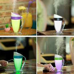 Handzerstäuber online-Moonlight Cup Hand-USB-LED-Nachtlicht-Ultraschall-Luftbefeuchter kreativen Geschenk-Luftreiniger Nebel-Hersteller Purifier Atomizer