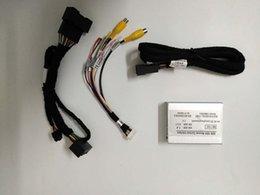 2019 antena de rádio do carro plug Adaptador de interface de câmera retrovisor RS-1103 para carro Audi A4 A5 Q5 sistema MMI não com diretrizes de estacionamento ativo
