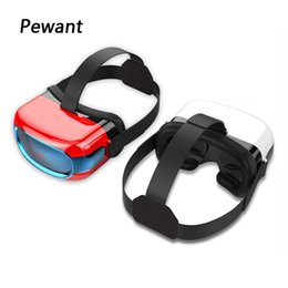 Wholesale Vr Sensor - Wholesale- Original Pewant Virtual Reality Glasses VR All In One HD Headset Cinema VR With WIFI G-sensor Quad Core PC CPU 3D Video Play