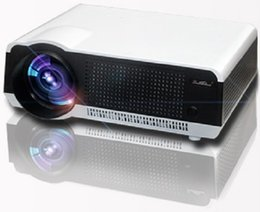 Wholesale Full Hd 3d Projector Price - Wholesale-Factory price ATCO Full HD 5500Lumens 1280*800 Multimedia Home cinema LED LCD projector Digital 3D Proyector 200W lamp led86