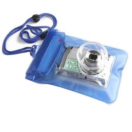 Wholesale Dive Float - Wholesale- New Arrival Digital Camera Waterproof Bags Video Waterproof Cases Underwater Diving Floating Pouch For Camera Free Shipping