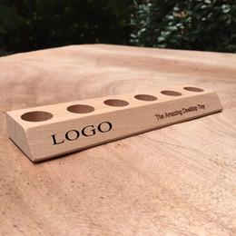 Wholesale Vacuum Relief - Mokuru stick Base vacuum wood wooden rod flip game Bang decompression Relief rod base bar