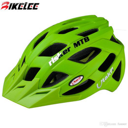 Wholesale Cascos Ciclismo Mtb - Wholesale-2015 New Bicycle Bike helmet 23 Air Vents Cycling Helmets Road MTB Bicycle Helmets Size L Green Blue Black Cascos Ciclismo