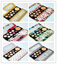 Wholesale Makeup Basics - Factory Direct DHL Free Shipping NEW makeup palettes Girls Collection Basic Bitch Power Hungry rockin rebel 9 color eyeshadow palette