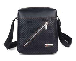 Wholesale British Clutch - Wholesale-Hot sale 2016 fashion British business men shoulder bag wild high-quality PU clutch messenger bags briefcase bag zs0011