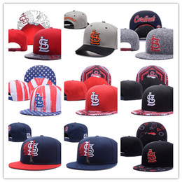 Wholesale Newest Arrival Wholesales St Louis Cardinals Baseball Cap Embroidered Team logo Adjustable Cap Sport Fit Hats Colorfull