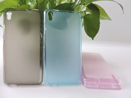 Wholesale Gionee Phones - New Arrival Anti-Fingerprints Soft TPU Silicone Pudding Rubber Cover For Gionee Pioneer P5W Phone Back Case