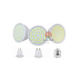 Wholesale Mr16 Smd 6w - SMD2835 LED Light Bulbs GU10 MR16 E27 Led spotlight 4W 6W 8W indoor lighting Led bulb lamps AC 110V 220V 12V