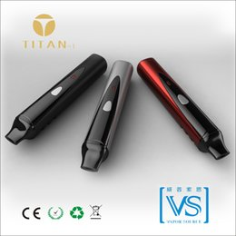 Wholesale Certificate Electronics - Titan-1 vaporizer dry herb 2014 classic pen style electronic cigarette with CE ROHS FCC certificate chinese supplier distributor needed