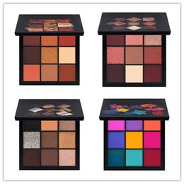 Wholesale Multi Color Pearls - HOT Beauty Cosmetics Palette makeup palettes 9 color eyeshadow palette eyeshadow Pearl matte Free shipping+small gift
