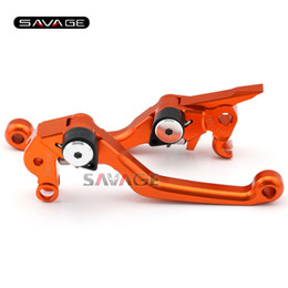 Wholesale r bike - For KTM 125 144 200 250 300 400 EXC XC SX SX-F XC-W EXC-F XCF-W EXC-R Motorcycle Dirt Bike Off-road CNC Pivot Brake Clutch Lever