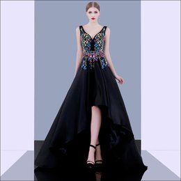 Wholesale Evening Long Dinner Dresses - Long after the long black banquet evening dress in the long party sexy big halter dinner birthday party evening dress