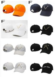Wholesale Animals San Francisco - 2017 Saint Pablo Hot Collection City Series New York Houston Toronto Los Angele San Francisco Hat Black I Feel Like Pablo Bear Visor