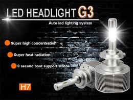 Wholesale Super Bright Headlight Bulbs - head light h4 Luxeon ZES Led 30w 4000lm car led headlight 6000K with 6063 aviation aluminum heat sink G3 super bright bulb