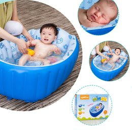 Wholesale Inflatable Baby Swimming Pool Tub - Inflatable Pool Inflatable Toys Baby Inflatable Swimming Pool for Newborn Toddlers Infant Baby Bath Tub Children Bath Toy 2112011