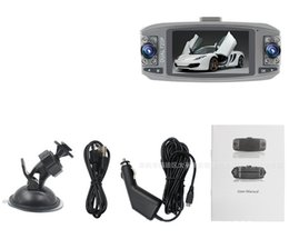 Wholesale Hd Vehicle Dvr Camera - Universal New HD Dual Lens 2.7'' Vehicle Car DVR Video Recorder Camera Dash Cam G Sensor