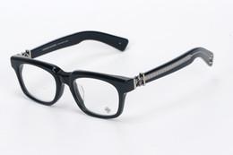 Wholesale Women Optical Frames Metal - Brand SEE YOU IN TEA eyewear Oculos De Grau Frame Men Eye Glasses Women Handcrafted Frame Japan Optical Frame 53mm