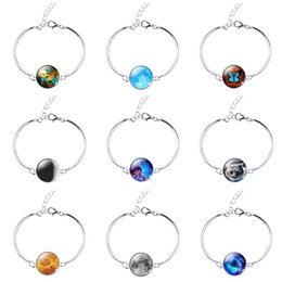 Wholesale Wholesale Enamel Cat Bracelets - Good A++ Bracelet Young Fresh Star Fighting Cat Time Gemstone Couple Hand String FB553 mix order 20 pieces a lot Link, Chain