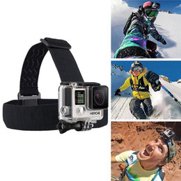 Wholesale Wholesale Camera Straps - hot selling For Action camera Head Strap Chest Harness Mount For Hero 5 3+ 4 SJ4000 xiaomi yi 4K SJCAM EKEN H9 H9R