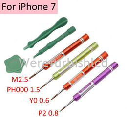 Wholesale Professional Iphone Screwdriver - BEST No.6666 7pcs Professional Spudger Pry Opening Tool Kit Screwdriver Set for iPhone 7 Repair Hand Tools Sets
