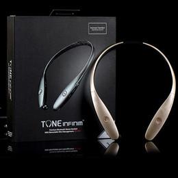 2019 auricolari bluetooth a toni di lg HBS900 hbs 900 HBS-900 Tone + Cuffie senza fili Sport Neckband Cuffie regolabili Auricolari Bluetooth stereo per iphone 5 6 plus S6 ear009 sconti auricolari bluetooth a toni di lg