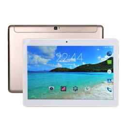 Wholesale Tablet Android 4g Gps 16gb - 10 inch Octa Core 4G LTE tablet Android 6.0 Marshmallow tablet pc MTK6753 fast CPU 2.0G Mhz 32GB Bluetooth Wifi 3G connect TV