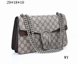 Wholesale Long Leather Key Chain - 2017 New Designer Handbags snake leather embossed fashion Women bag wallets chain Crossbody Bag Brand Designer Messenger Bag sac a main