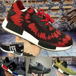 Wholesale Special Shoes Men - Special !! ONLY SOME Original R1 NMD RUNNER PK Primeknit Mission Nice kicks Boost Spider-Man Sneaker Men's & Women's Lover's Running Shoes