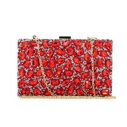 Wholesale Ladies Purse Model - Wholesale- Diamond box ladies small fashion purse ladies fancy purse rhinestone new model ladies handbag (C562)