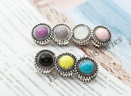 Wholesale Elegant Women Accessories - XT53 12pcs lot wholesale Double-faced Retro new elegant magnet brooches alloy especially broches hijab accessories brooches for women