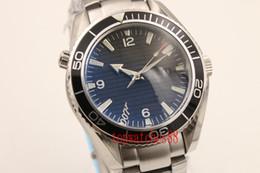 Wholesale Planet Ocean Skyfall - brand watch men Co-Axial planet ocean 600m skyfall automatic mechanical stainless original bracelet watches men business wristwatches
