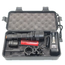 Wholesale Tactical Flashlight Remote Switch - Litwod CREE XM-L L2 Led Tactical Flashlight 5000Lm Zoomable Waterfoof For Hunting Light Aluminum Remote Switch Led Torch z20188