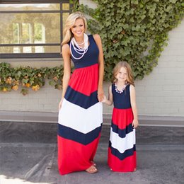 Wholesale Wholesale Cute Casual Dresses - Womai Girls Dress, Cute Kids Stripe Casual Princess Casual Dresses for Girl