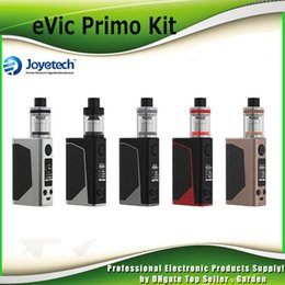 Wholesale Gold Liquid - Authentic Joyetech eVic Primo 200W TC Starter Kit with UNIMAX 25 Atomizer Tank E-liquid Filling with BFXL Kth-0.5ohm DL 100% Genuine 2220070
