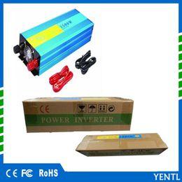 Wholesale Lcd Pure Sine Wave Inverter - LCD display inverter pure sine wave 1500W 3000W(peak) car 12v Inverter Quiet power supply solar power inverter DC 12V 24V AC 110V 220v