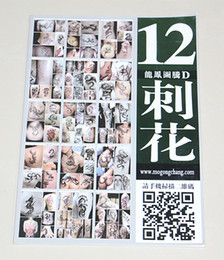 Wholesale Wholesale Tattoo Books - Wholesale- TB-145-12 High quality & the latest version of the tattoo books hot sale wholesale price on crazy tattoo supply free shipping