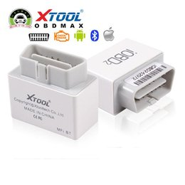 Wholesale Xtool Iphone - XTOOL iOBD2 Bluetooth OBD2 EOBD Auto Scanner Trouble Code Reader For iPhone Android Vehicle Diagnostic Tool