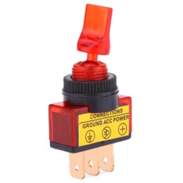 Wholesale Toggle Switch For Led Lights - Universal 4 pcs 12 V 20 A Automobile Car LED Light Toggle Rocker Switch for cars motorcycles boats Toggle Rocker Switch Control